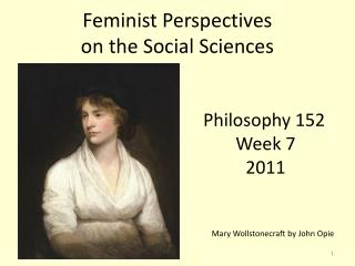 Feminist Perspectives  on the Social Sciences