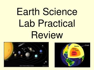 Earth Science Lab Practical Review