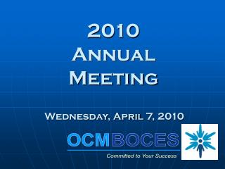 2010  Annual    Meeting
