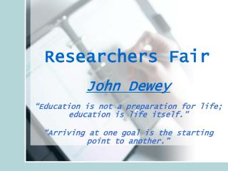 Researchers Fair