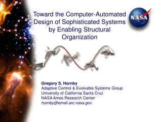 Toward the Computer-Automated Design of Sophisticated Systems by Enabling Structural Organization