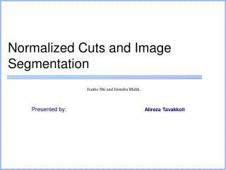 Normalized Cuts and Image Segmentation