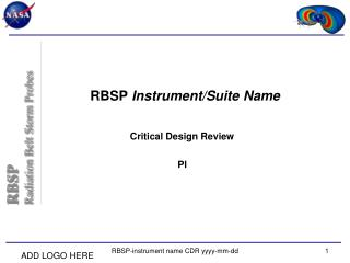 RBSP  Instrument/Suite Name