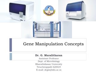 Gene Manipulation Concepts