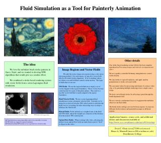 Fluid Simulation as a Tool for Painterly Animation