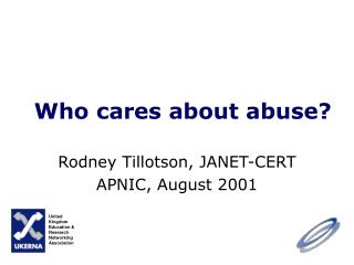 Who cares about abuse