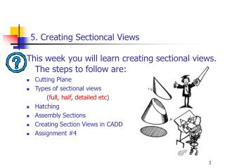 5. Creating Sectioncal Views