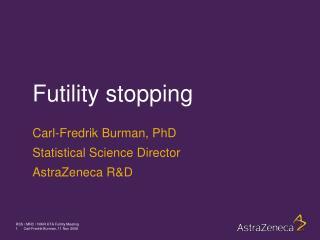 Futility stopping