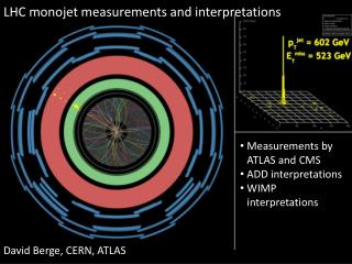LHC  m onojet measurements and interpretations