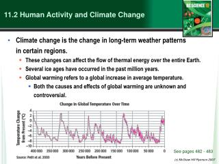 11.2 Human Activity and Climate Change