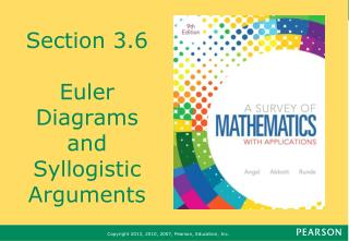 Section 3.6 Euler Diagrams and Syllogistic Arguments