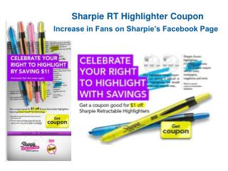 Sharpie RT Highlighter Coupon