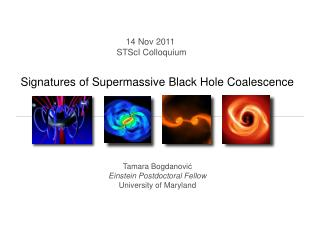 Signatures of Supermassive Black Hole Coalescence
