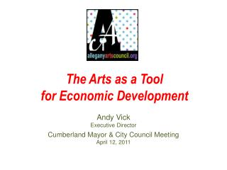 The Arts as a Tool for Economic Development