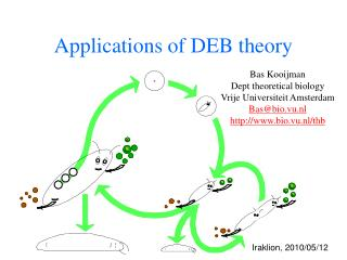 Applications of DEB theory