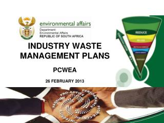 INDUSTRY WASTE MANAGEMENT PLANS PCWEA 26 FEBRUARY 2013