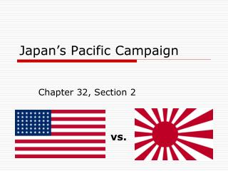 Japan's Pacific Campaign