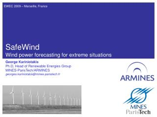SafeWind Wind power forecasting for extreme situations