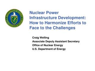 Nuclear Power Infrastructure Development: How to Harmonize Efforts to Face to the Challenges
