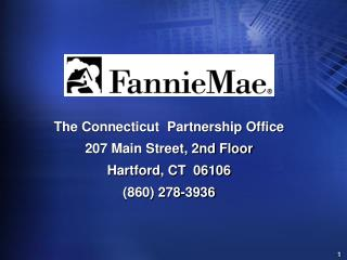 The Connecticut  Partnership Office 207 Main Street, 2nd Floor Hartford, CT  06106 (860) 278-3936