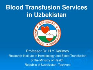Blood Transfusion Services in Uzbekistan