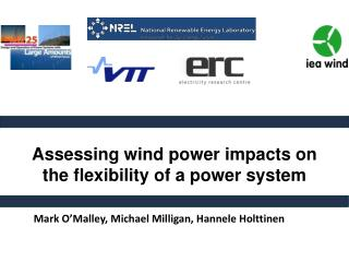 Assessing wind power impacts on the flexibility of a power system