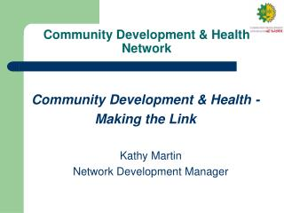 Community Development & Health Network