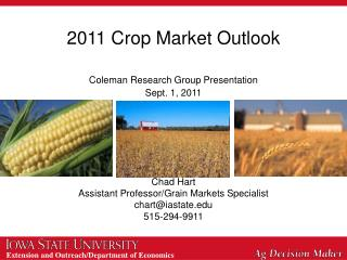 2011 Crop Market Outlook