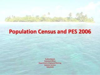 Population Census  and PES 2006