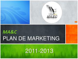MA&C PLAN DE MARKETING