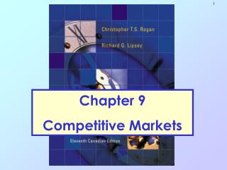 Chapter 9 Competitive Markets