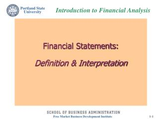 Financial Statements: Definition & Interpretation
