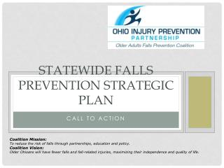 Statewide Falls prevention strategic plan