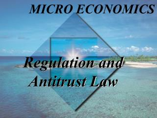 Regulation and Antitrust Law