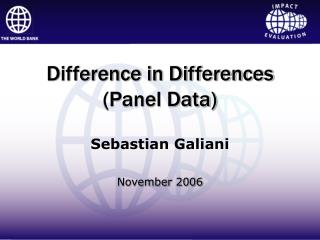 Difference in Differences  (Panel Data)
