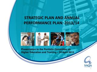 STRATEGIC PLAN AND ANNUAL PERFORMANCE PLAN: 2013/14