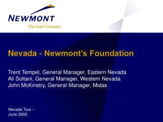 Nevada - Newmont's Foundation