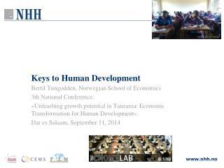 Keys to Human Development