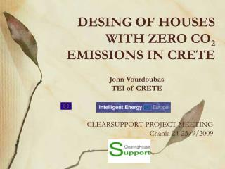DESING OF HOUSES  WITH ZERO CO 2 EMISSIONS IN CRETE