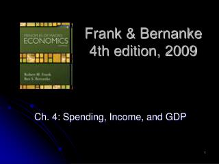 Frank & Bernanke 4th edition, 2009