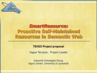 SmartResource: Proactive Self-Maintained Resources in Semantic Web