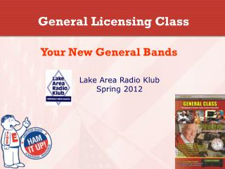 General Licensing Class