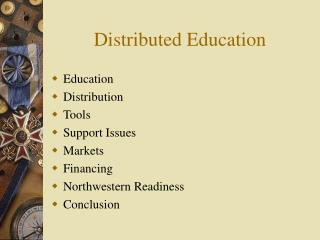 Distributed Education
