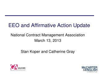 EEO and Affirmative Action Update