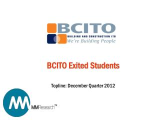 BCITO Exited Students