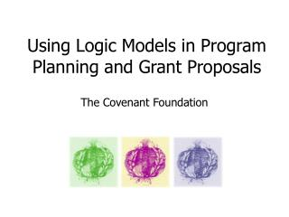 Using Logic Models in Program Planning and Grant Proposals