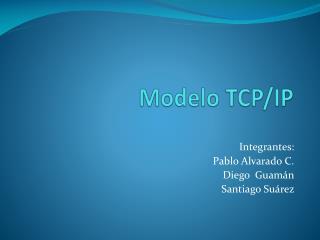 Modelo  TCP /IP
