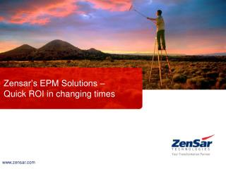 Zensar's EPM Solutions – Quick ROI in changing times