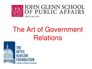 The Art of Government Relations