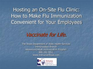 Hosting an On-Site Flu Clinic: How to Make Flu Immunization Convenient for Your Employees